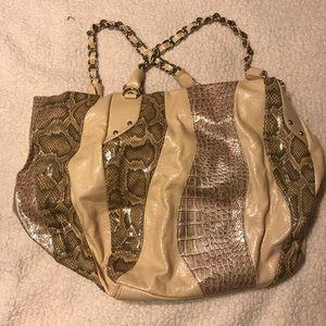 Steve Madden Snakeskin Handbag